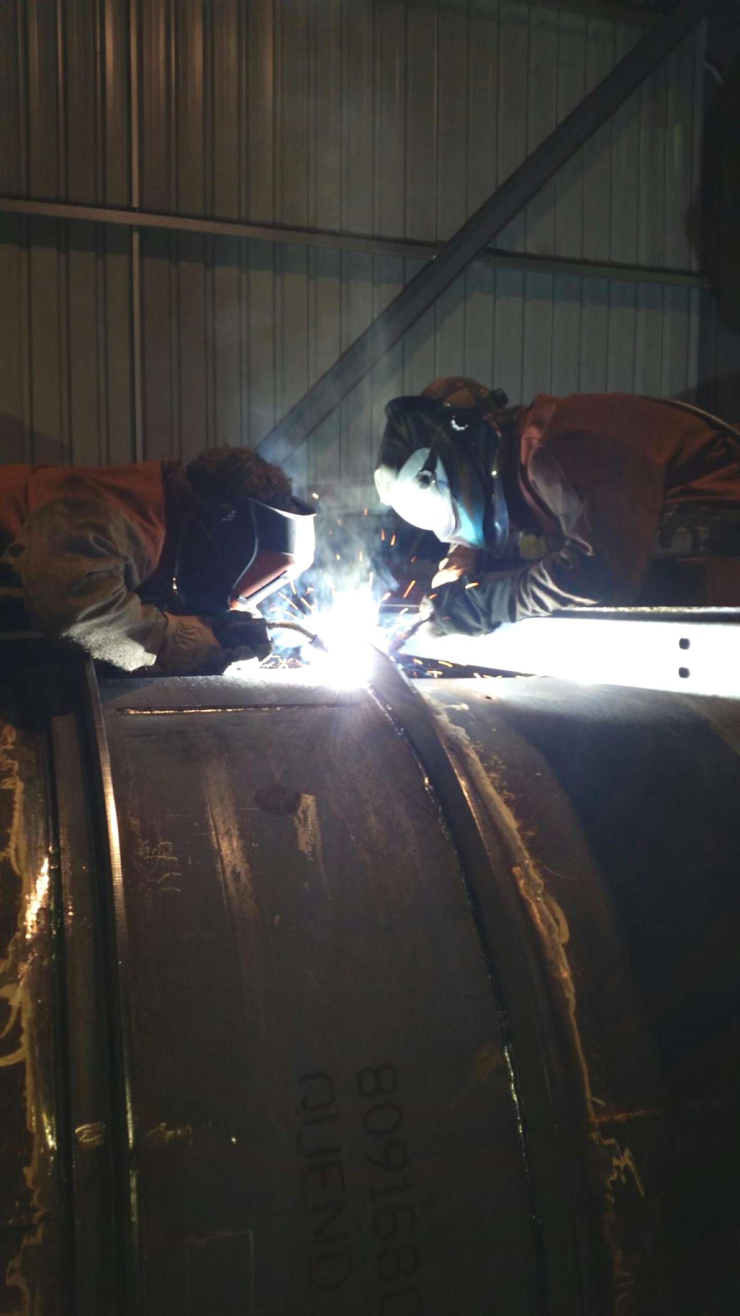 Troy and Kyle Welding
